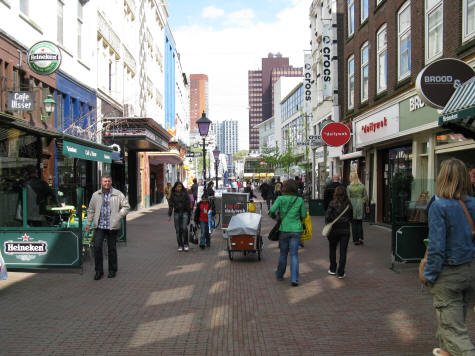 Shopping in Rotterdam, The Netherlands